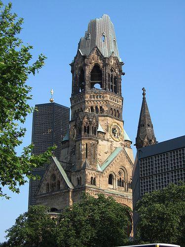 Memorial church at the Kudamm, Germany