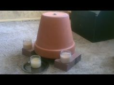How To Make a Clay Pot Heater To Keep Your House Warm When There's a Power Outage