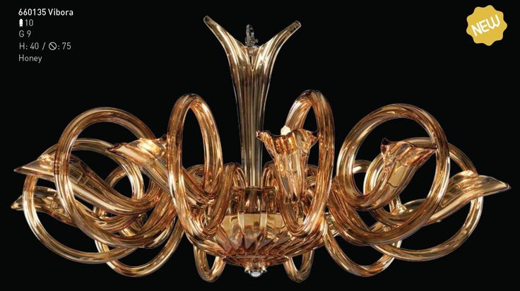 Lucere brings you chandelier VIBORA... A newly designed chandelier by Iris Cristal; located in the heart of Bohemian Region(Czech Republic) bringing along the fusion of the oldest tradition with the newest and innovative technology!!