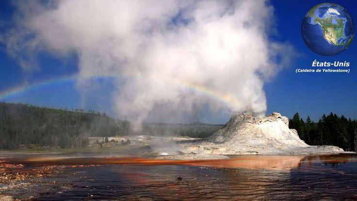 La caldeira de Yellowstone, un supervolcan en sommeil
