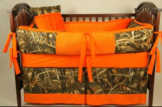 Camo Baby Bedding #CamoLife #Country #Baby
