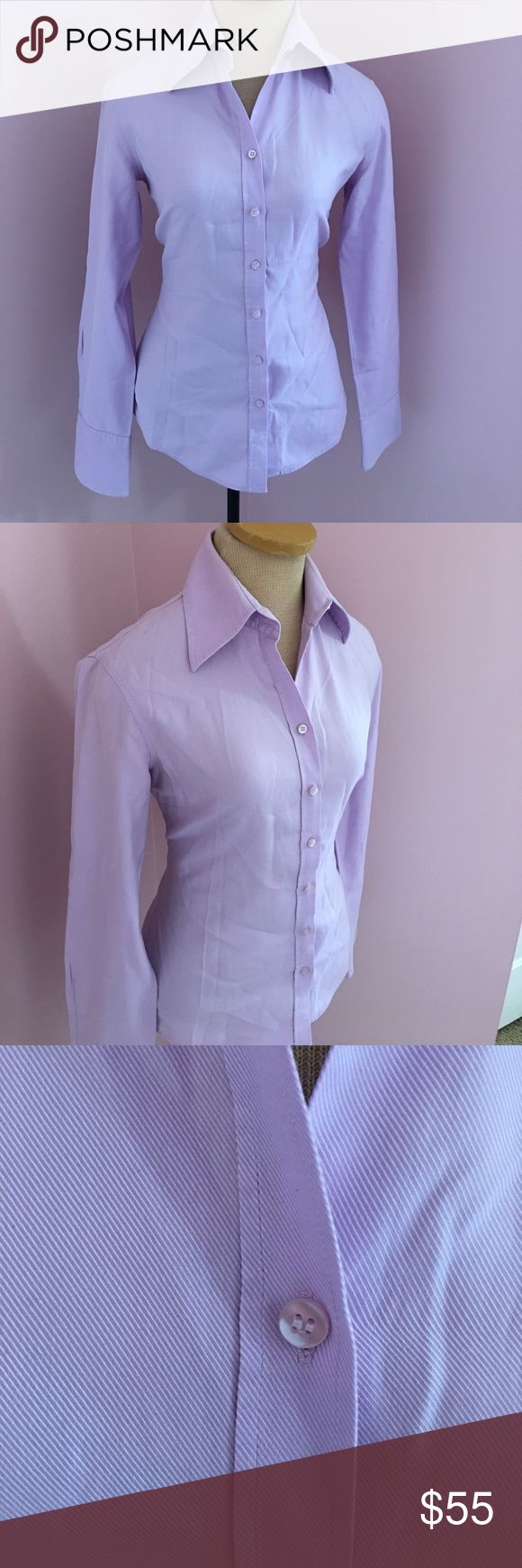 Mossimo Hawes&Curtis London Button down Shirt Mossimo Hawes&Curtis London Dress Shirt Button down size UK 8, this brand is an UK Brand of Mossimo . It's very high quality. Beautiful Shirt and color is Lavender. Worn once for an event. Size is small I'd say in USA size = 4-6 women. Offers welcome and all purchases receive free gift 🎁! mossimo Hawes&Crutis UK Tops Button Down Shirts