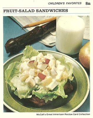 Mejores 489 imgenes de vintage food cards en pinterest comida fruit salad sandwiches mccalls great american recipe card collection 1973 forumfinder Images