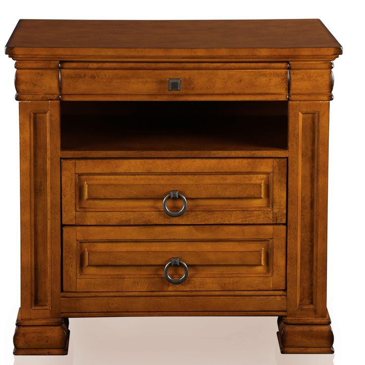 Furniture Of America Claresse Bold 3 Drawer Nightstand   Overstock™  Shopping   Great Deals