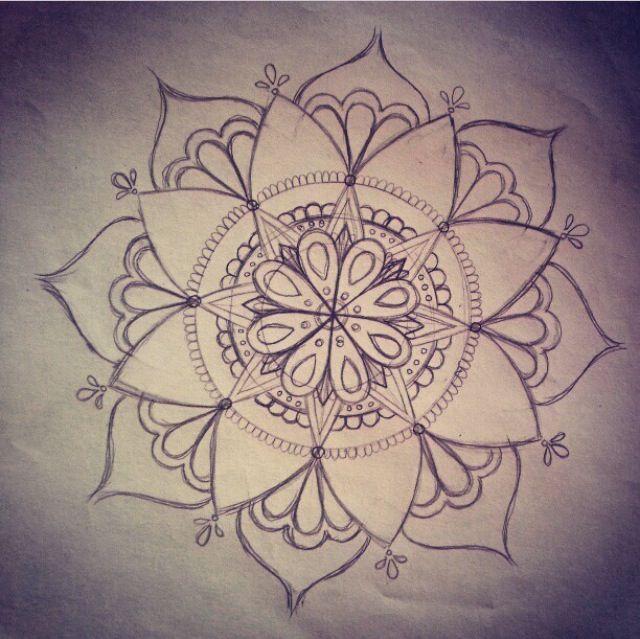 rose mandala design - Google zoeken