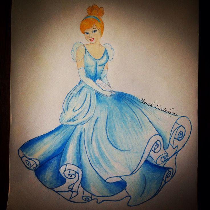 Cinderella, Disney, Drawing