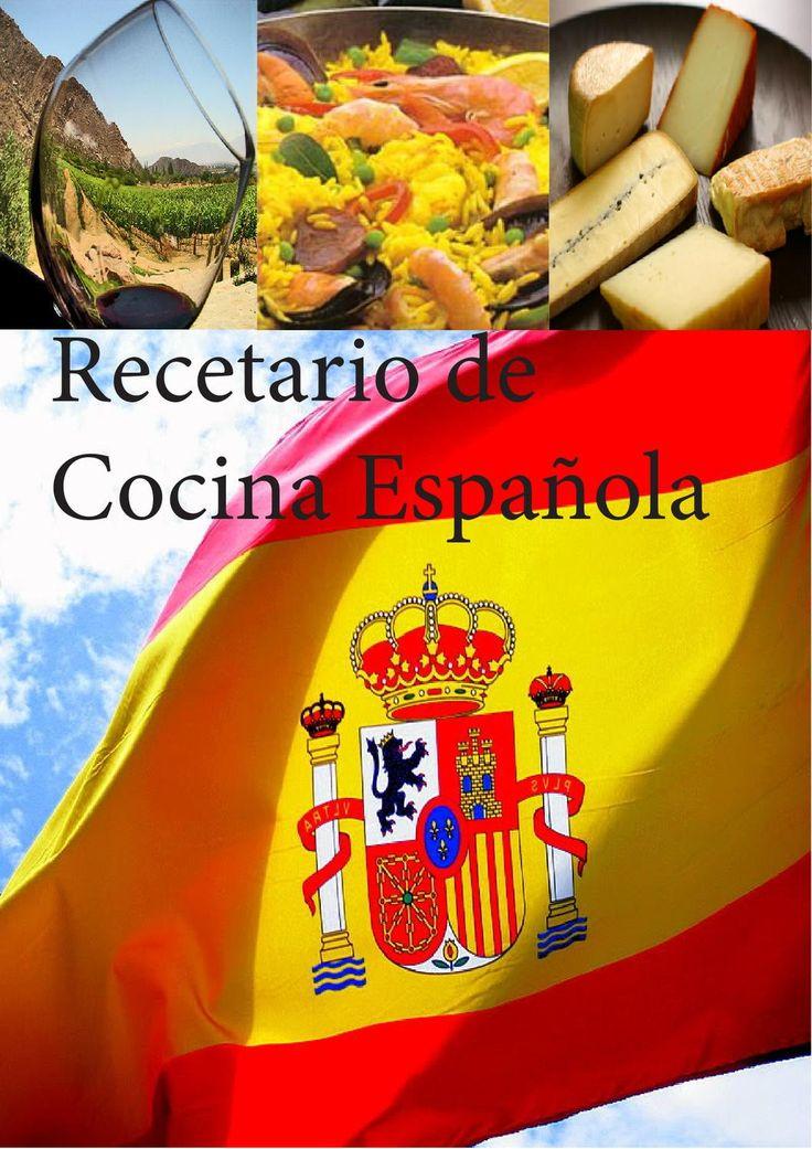 Recetario de Cocina española