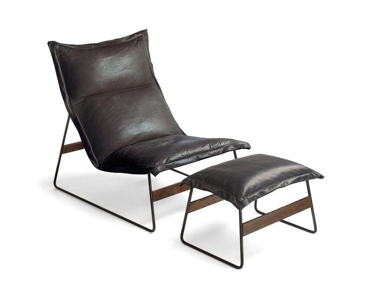 jeanmarie massaud drift chair and ottoman