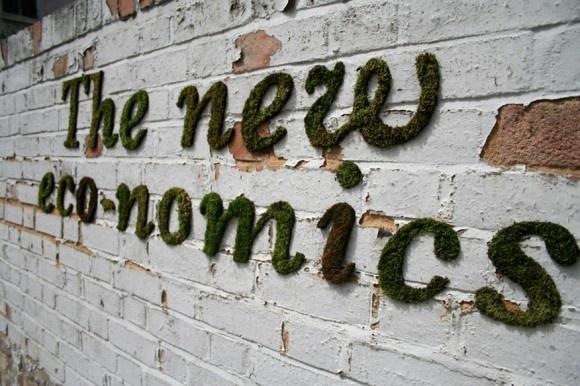 moss graffiti poetry