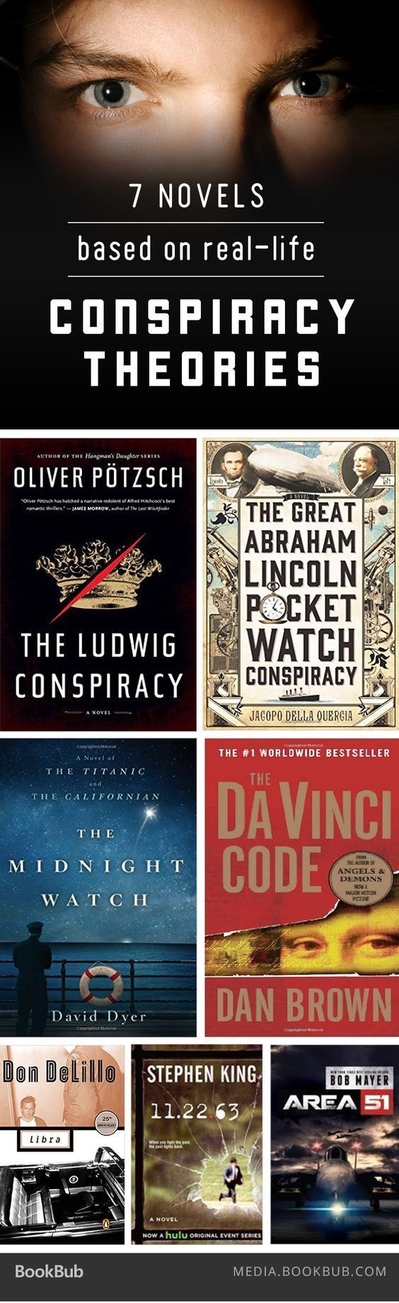 7 Novels Based On Real Life Conspiracy Theories