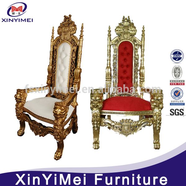 High Back Cheap King Throne Chair For Party Photo Detailed About
