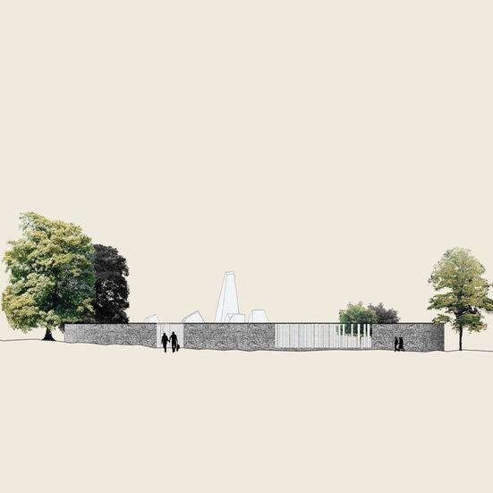 Vestfold og Telemark krematorium - konkurranseforslag - Hansen/Bjørndal Arkitekter AS