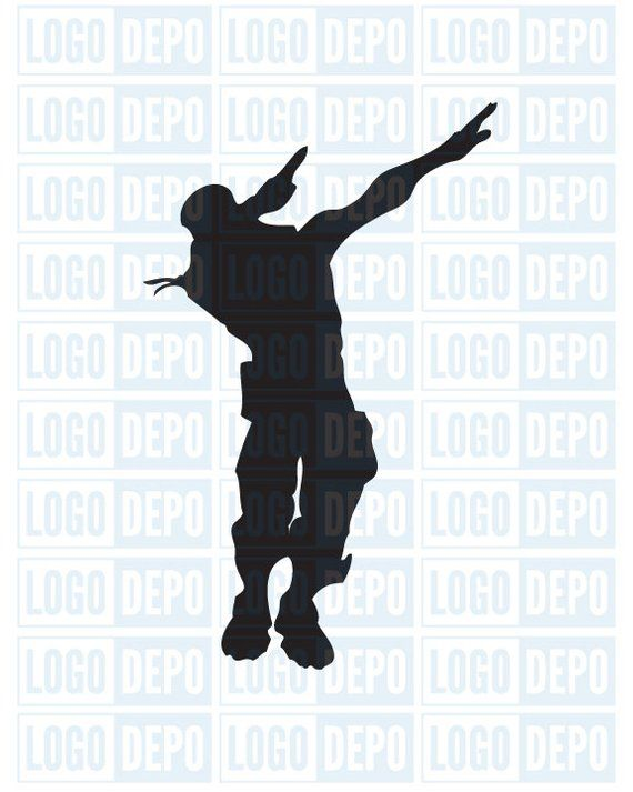 Fortnite Svg Dab Fortnite Dance Fortnite Artwork Cut Files