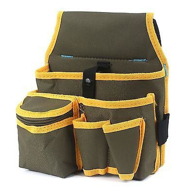 Metee Utility Pocket Pouch Bag WBelt Hardware Mechanics Electrician Canvas Tool Bag *** Read more  at the image link.