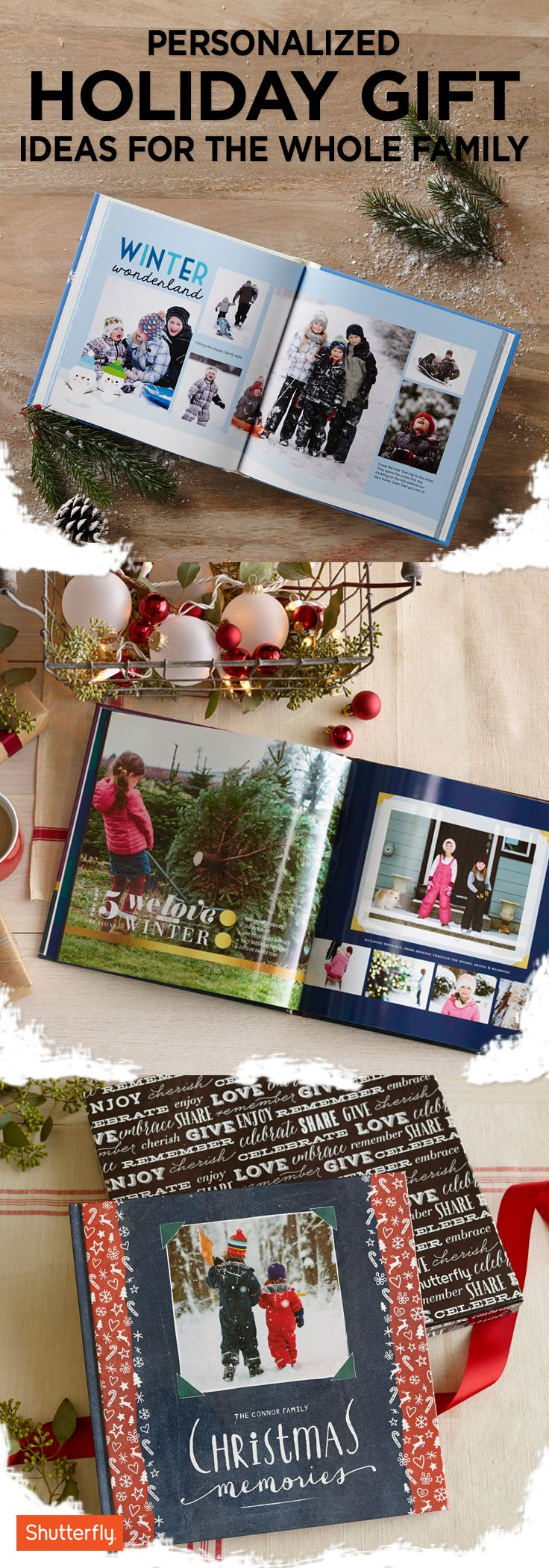 Still stumped on what to get the special person in your life? Discover Shutterfly's personalized photo books that everyone on your list will love receiving this holiday. Find everything you need (that your family will love!) at Shutterfly. Save Shutterfly items on Pinterest and snag 'em later!