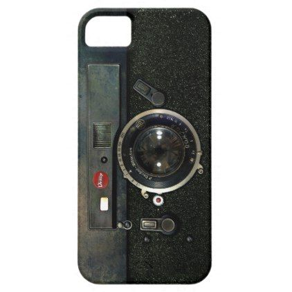 Classic Retro Old Vintage Army looks Rusty Camera iPhone SE/5/5s Case - vintage gifts retro ideas cyo