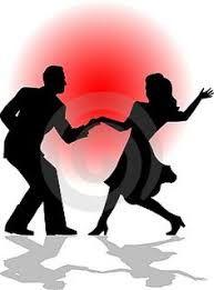 Image result for ballroom dancing silhouette swing
