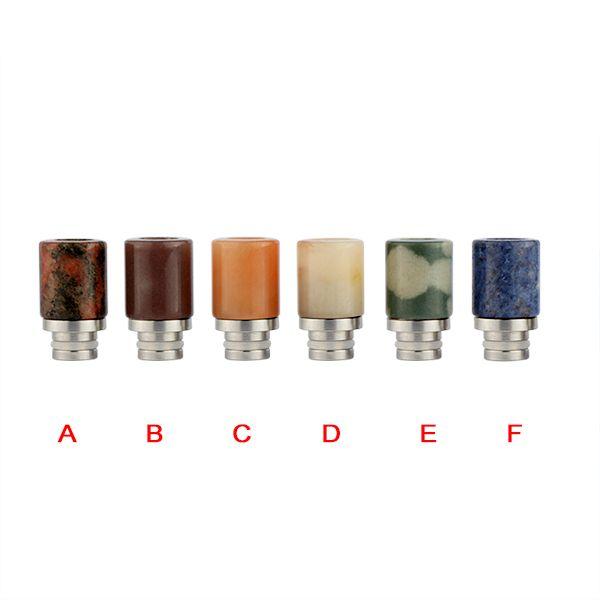 China original Sailing 510 drip tips senior Burma jade Assorted colours stainless core for 510 atomizer #Affiliate