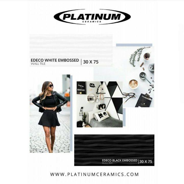 #platinumceramics #walltiles #blackandwhite #monochrome