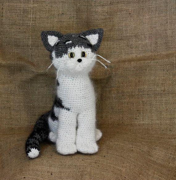 Beggar Cat DollToyPlush cat kids toybabieshandmade by BadHatCat