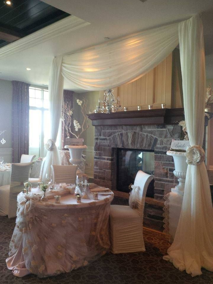 Pretty as a Picture Head Table