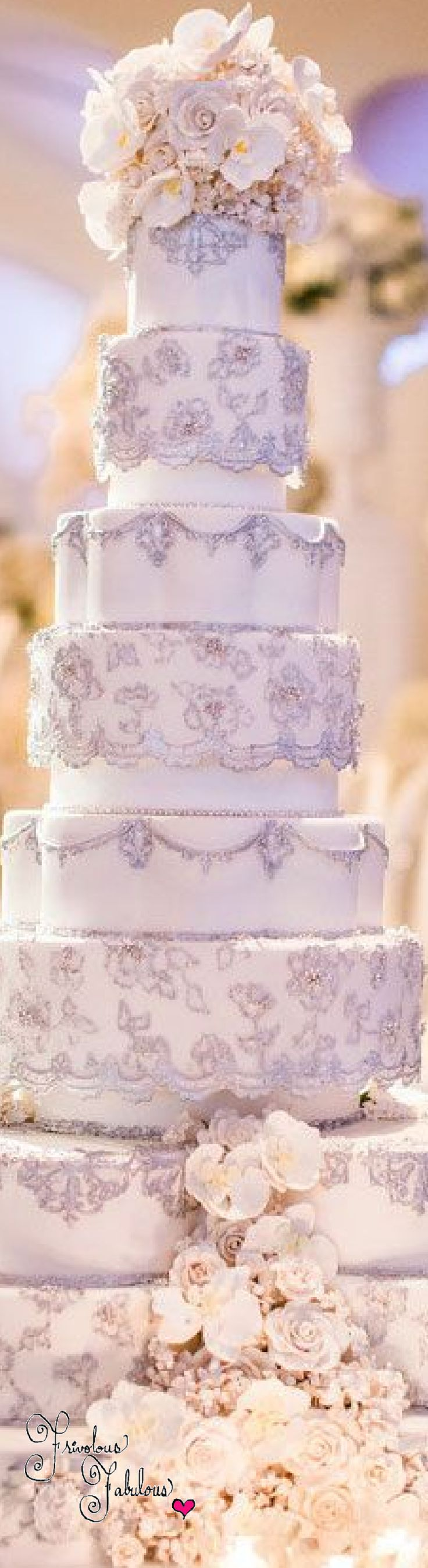 Frivolous Fabulous - Lavender Cake By Wed Luxe