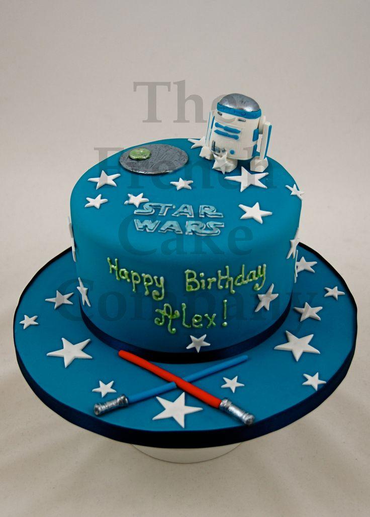 cake for boys star wars gateau d 39 anniversaire pour enfants garcon star wars verjaardagstaart. Black Bedroom Furniture Sets. Home Design Ideas