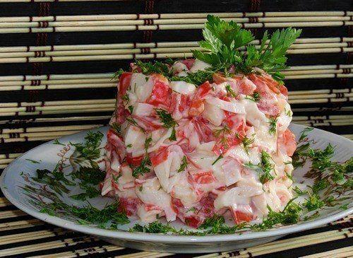 10 рецептов быстрых салатов