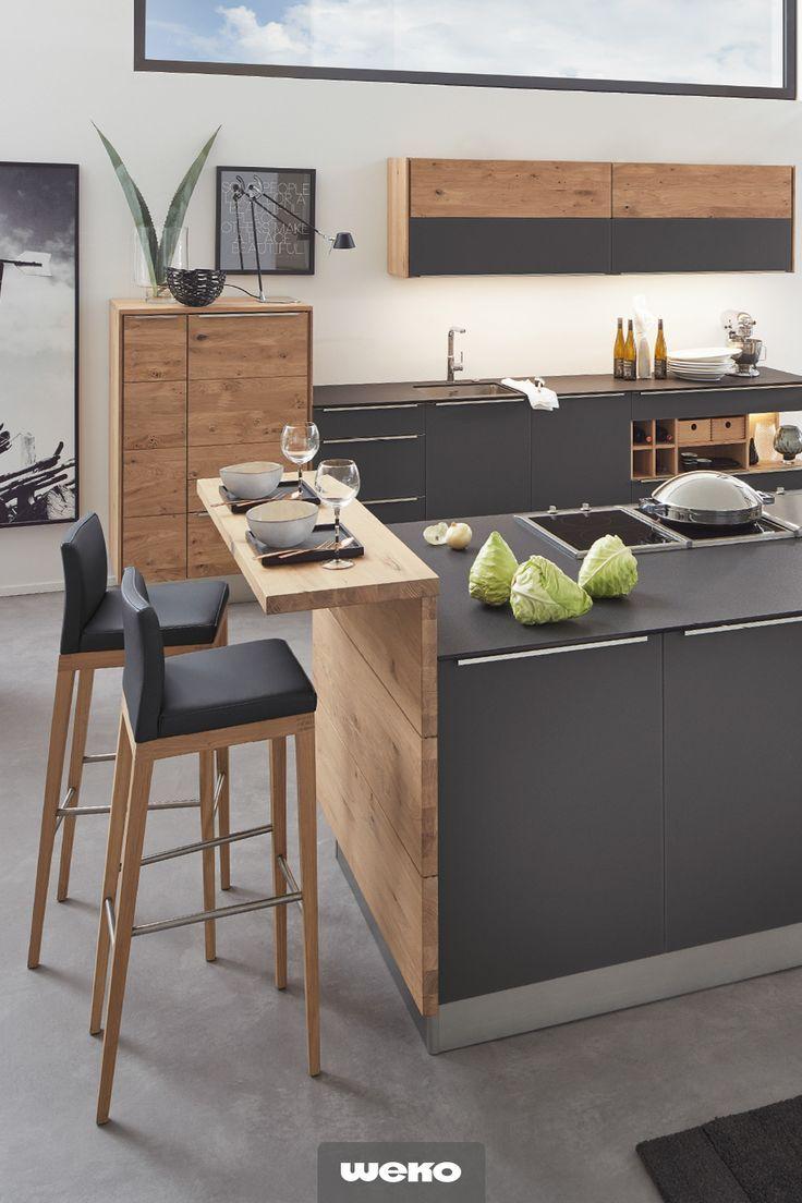 Viel Liebe für Details. Küche mit viel Stauraum….