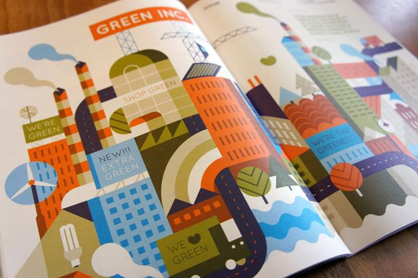 Magazine update #2 by Loulou and Tummie , via Behance: Illustrations Inspiration, Greensourc Magazines, Magazines Updates, Covers Illustrations, Editorial Illustrations, Magazines Loulou, Illustratori Olandesi, Magazines Covers, Design