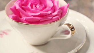 кружка, цветы, розовая, настроения, чашка, роза