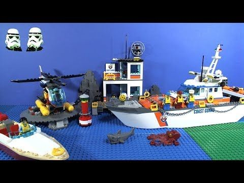 LEGO Coast Guard Headquarters Stop Motion