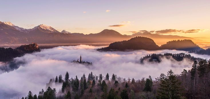#cc0 #desktop backgrounds #fog #foggy #forest #hd wallpaper #landscape #mist #misty #mountains #nature #panorama #panoramic #scenery #valley