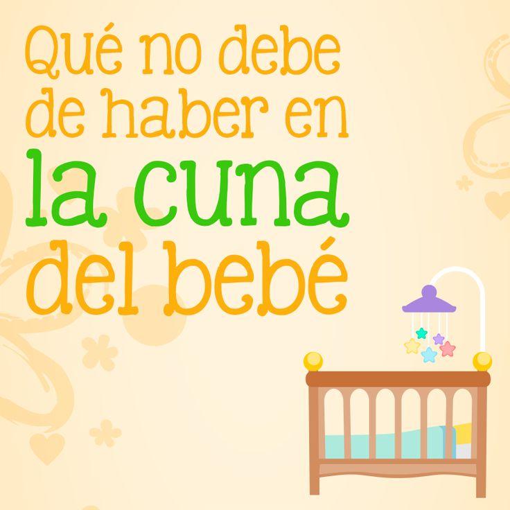 Los bebés deberían dormir boca arriba, de preferencia en una cuna y en el mismo cuarto de los papás para evitar el síndrome de muerte súbita…