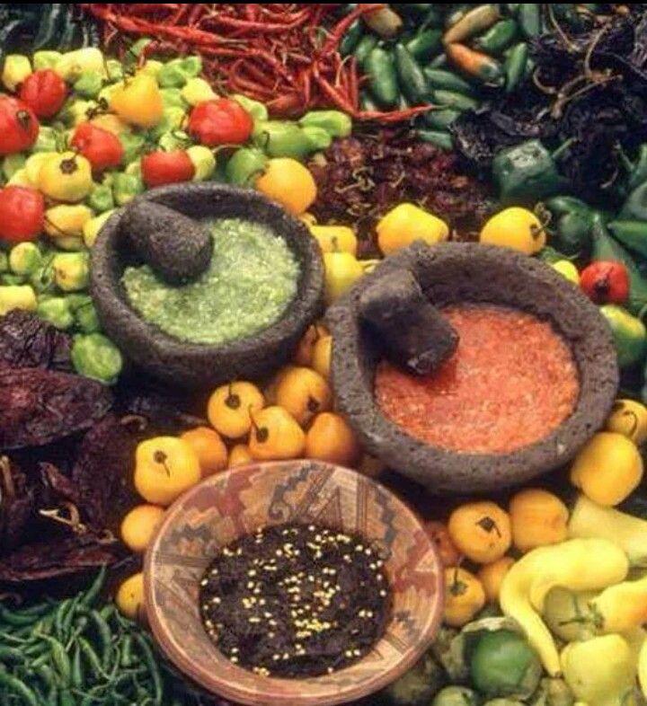 Salsas ~ Michoacan Mexico