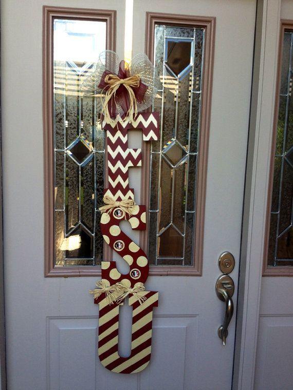 Florida State Door Hanger By Shutthefrontdoors On Etsy