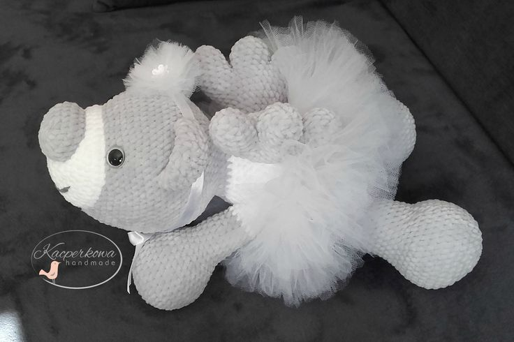 amigurumi crochet teddybear angel wedding