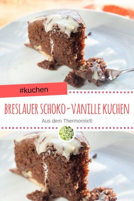 Breslauer Schoko Vanille Kuchen Aus Dem Thermomix Rezept Backen