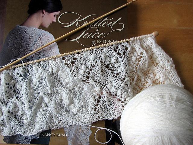 Haapsalu shawl by Lariata, via Flickr