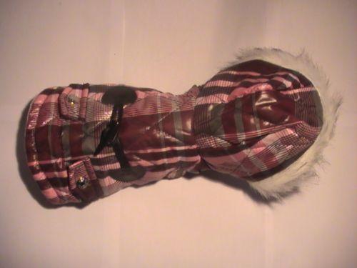 Vëtements Chien (Rose, Brun, Gris) / Chic dog coat Rhinestone Pink Grey Brown