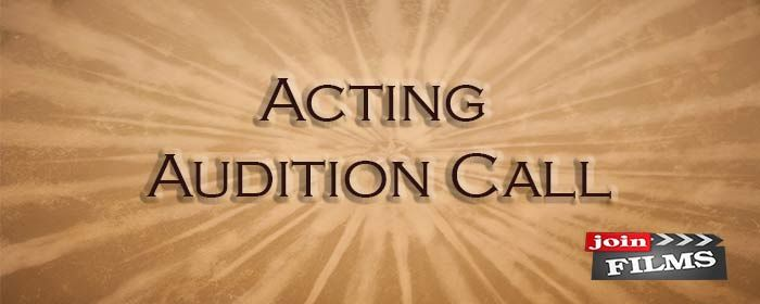 Audition Call, Required female experienced/fresher age 18 to 30 Year for Lead role of Upcoming {Telugu Movie} If you are interested, you can give audition. Don't miss the chance.  Details @ http://goo.gl/UbKXzI