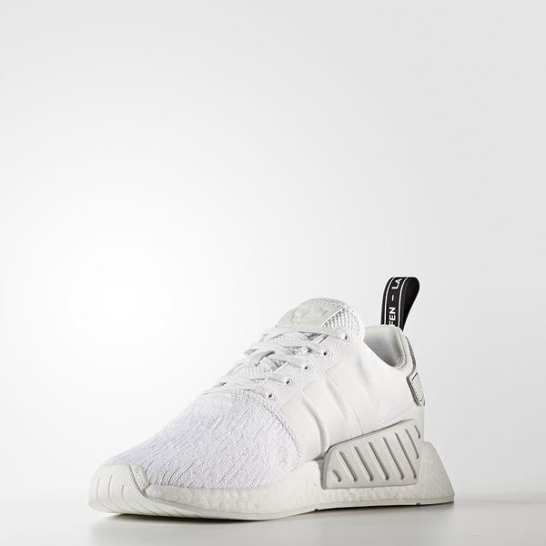 Adidas NMD_R2 Schuh Herren Gr. 9,5 Weiß NEU mit Etikett Gr