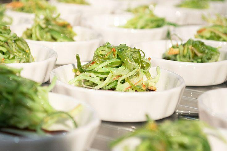 Algas para preparar una deliciosa ensalada.