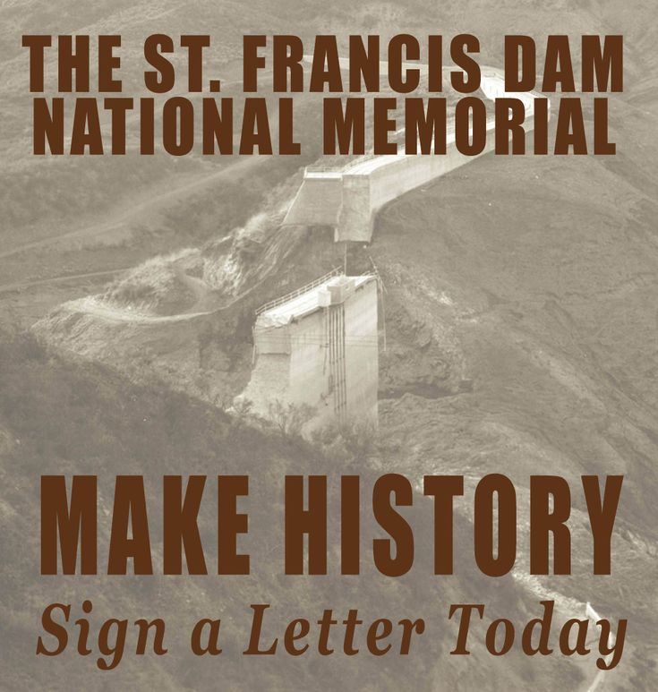 SaintFrancisDam.com | St. Francis Dam National Memorial | San Francisquito Canyon