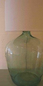 Vintage Wine Bottle - Lamp - eclectic - table lamps - boston - Dovetales Home