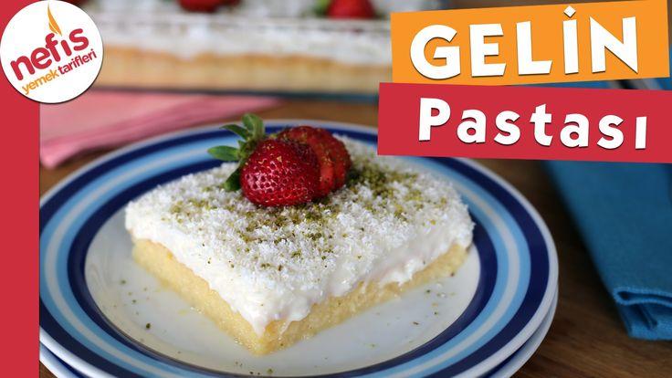 Gelin Pastası Tarifi (Tam Kıvamında ) - YouTube