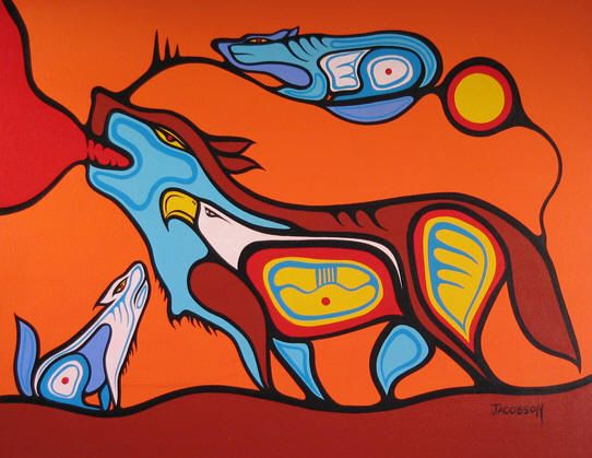 Listening to the howl within, Mark Anthony Jacobson, Ojibwe