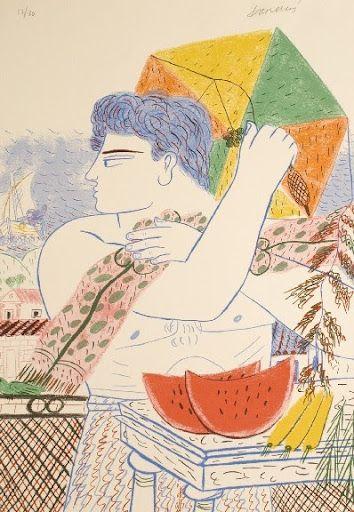 Αλέκος Φασιανός - Το πέταγμα του χαρταετού στην τέχνη…