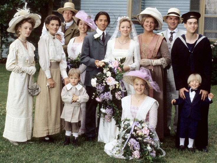 Gus and Felicity's wedding. Pic from Road To Avonlea FB page.