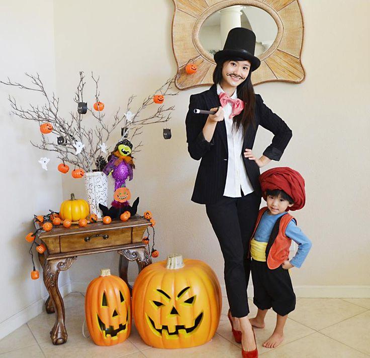kostum hallowen anak